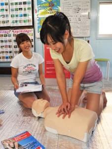 伊豆ダイビング 城ヶ崎インディーズ 救急救命の知識を学ぼう