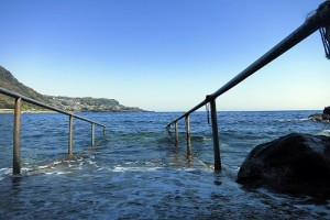 海に入る前に、、、